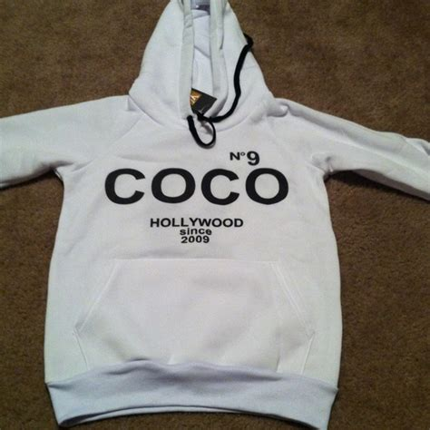 Channel Hoodie chanel coco chanel hoodie from enishia s closet on poshmark