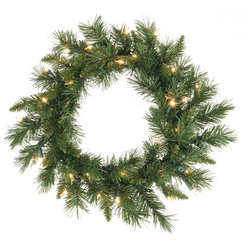 30 inch imperial pine wreath vck3317