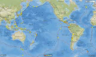 World Earthquake Map by Sciblogs Are The Japanese And Ecuador Earthquakes Related