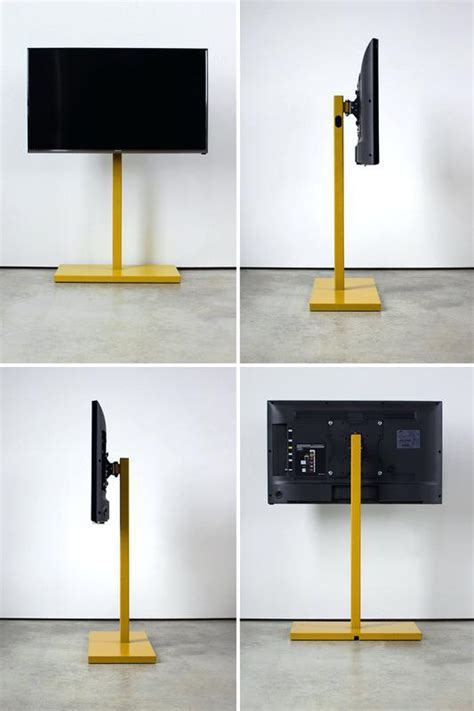 Free Standing Tv Mount Modern Retractable Mount With