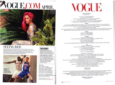 magazine layout masthead mastheads