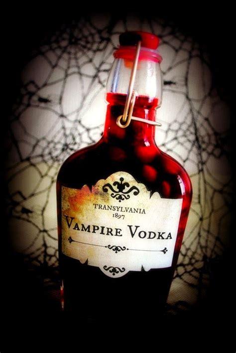 printable vodka label diy halloween inspired vire vodka recipe and printable