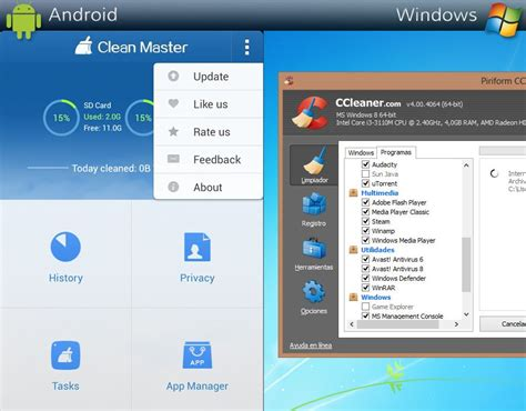 ccleaner tablet ccleaner for android tablet