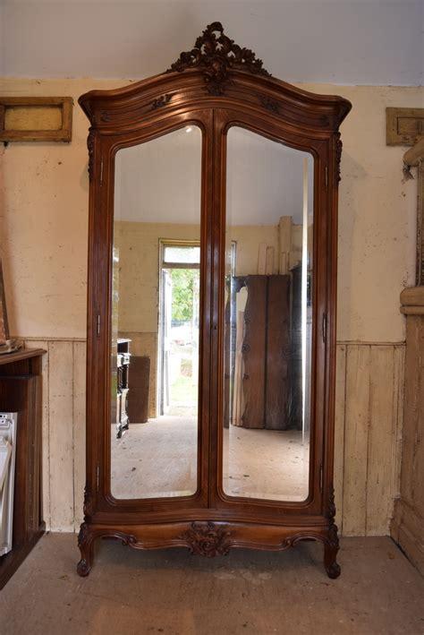 antique french armoire uk french louis xv style armoire wardrobe 297696