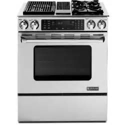 Jenn Air Gas Cooktops Jds9865bdp Slide In Modular Dual Fuel Downdraft Range