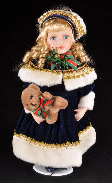 porcelain doll goldenvale collection goldenvale collection 16 porcelain doll autumn w original
