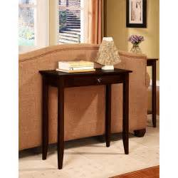 Slim Entry Table Rosewood Console Table Coffee Brown Walmart
