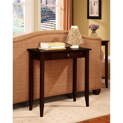 Brown Entry Table Rosewood Console Table Coffee Brown Walmart