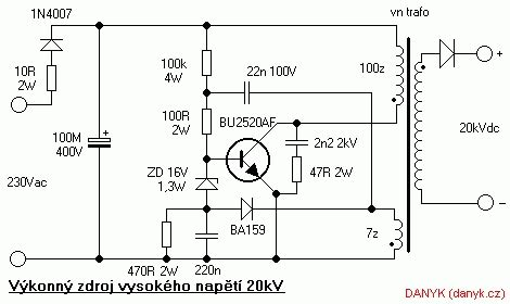 switching power supply schematic diagram wiring diagram