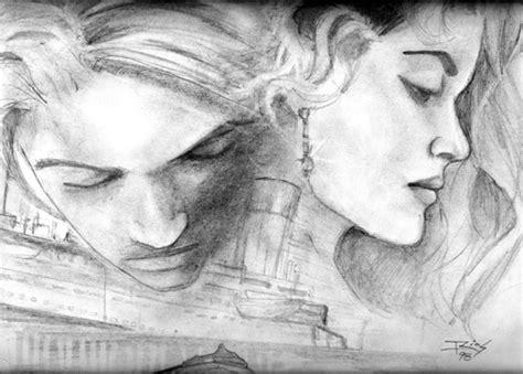 imagenes a lapiz de besos julian frbs dibujos del titanic