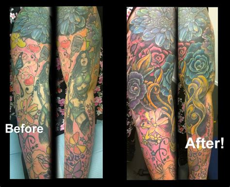 tattoo cover up nz jolly octopus tattoos coverup bright and beautiful