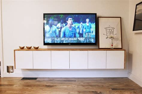 I Mu Magic Audio Device Makes Your Furniture Sing To You by 5 Diy Tv Stands That Hide Cable Boxes And Wires
