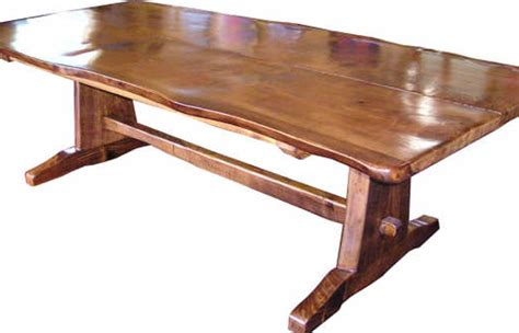 nz oak freeform dining table brendon catley furniture