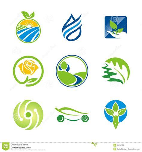 ambiente home design elements logos di ecologia dell ambiente della foglia della natura
