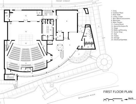 lyceum theatre floor plan community theatre plans 6 7m building along river local