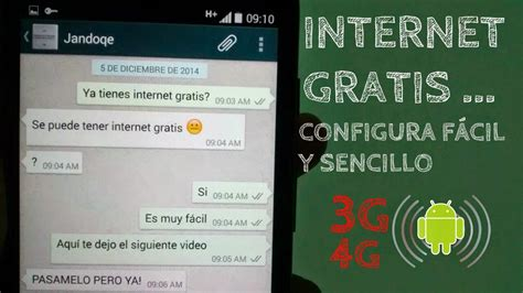 tutorial internet gratis android 2015 poner internet a android gratis 2015 youtube