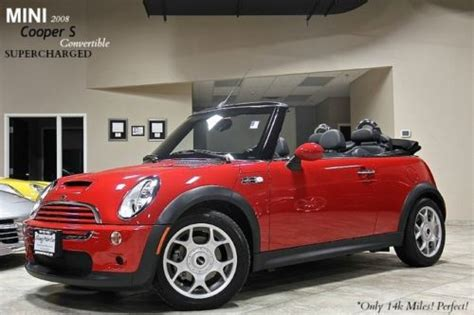 where to buy car manuals 2008 mini cooper seat position control buy used 2008 mini cooper s convertible only 14k miles 6 speed manual supercharged wow in