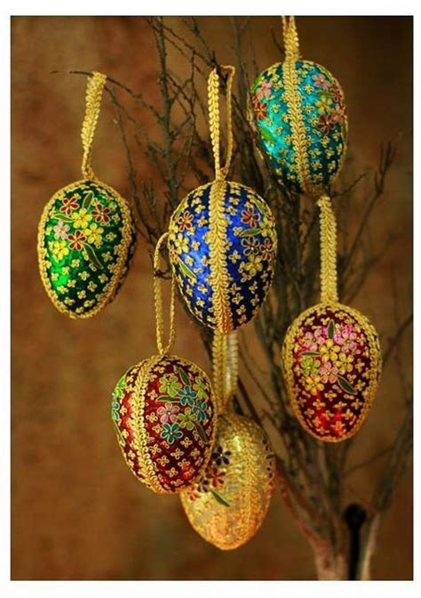 diy indian easter eggs