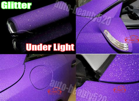 Optional Car Matte Flashy Glitter Sparkle Vinyl