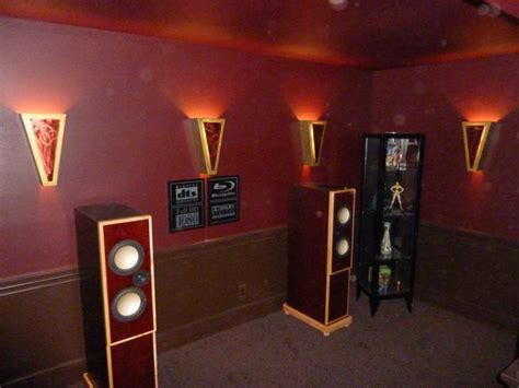 anatomy  diy wall sconces home theater forum