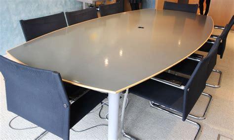 table largeur 70 cm table de reunion en bois resine grise et metal hauteur 70