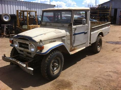 Toyota Fj45 For Sale 1977 Land Cruiser Canadian Fj45 1 Ton Up For Sale