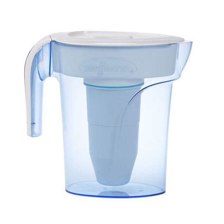 zerowater 6 cup pitcher with free tds light up indicator