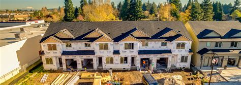 Vancouver Washington Court Records Maple Court Residential Building Development Of 27 Townhomes Vancouver Wa