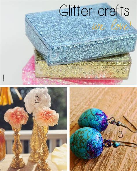 diy glitter crafts craft favourites top 10 glitter crafts glitter it