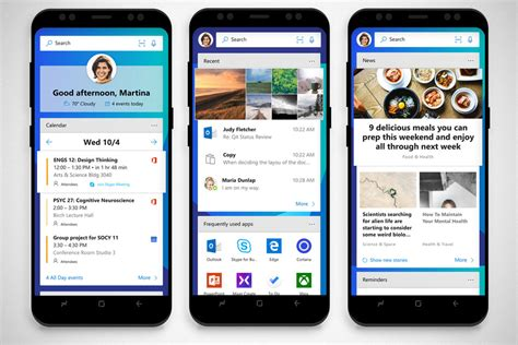 microsoft launcher themes microsoft infiltrates ios and android with a couple of