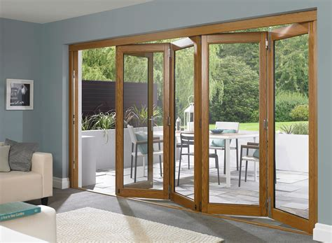 Exterior Folding Doors Folding Doors Exterior Glass Bi Folding Doors