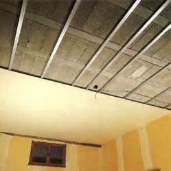 isolation d un plafond de sous sol en hourdis syst 232 me d