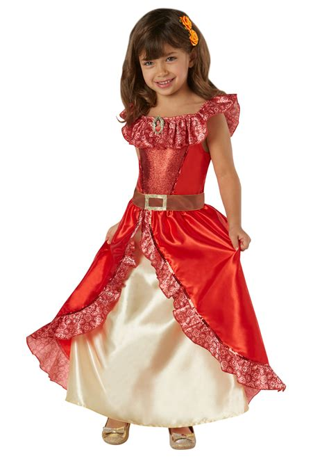 Dress Ellena deluxe of avalor s world book day fancy dress