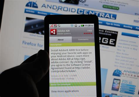 adobe air android adobe air for android now available android central