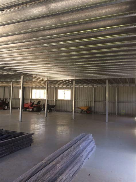boxspan steel mezzanine floor frames  extra space