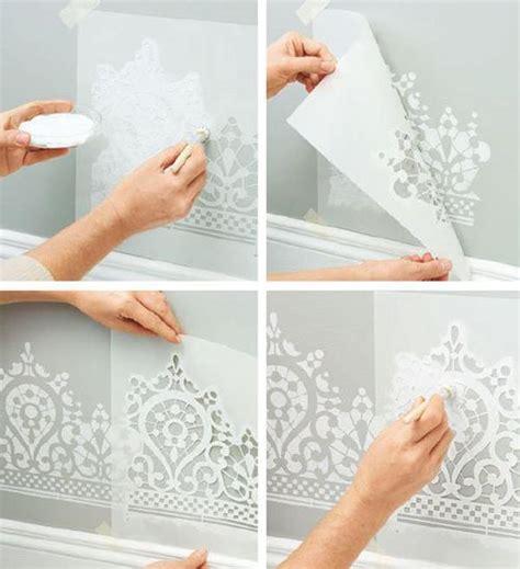 stencil per muri interni stencil per decorare le pareti