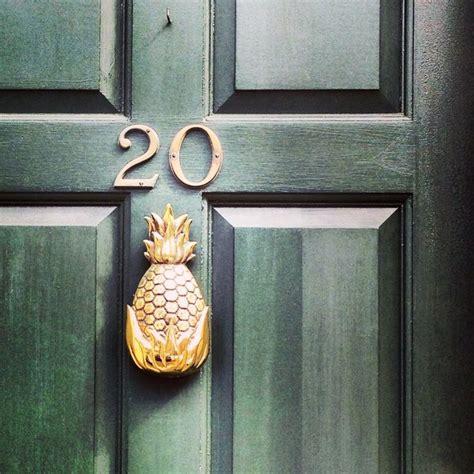 Pineapple Door Knockers Pineapple Door Knocker 187 Home Sweet Home