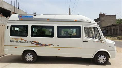 9 seater tempo traveller rent hire dehi gurgaon