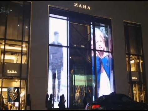 digital window digital windows at zara youtube