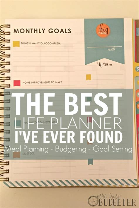 the living well planner review the best planner i - Best Planners And Organizers