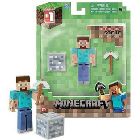 Paket Ker Tikus By Five minecraft 3 quot steve figure buy gifts