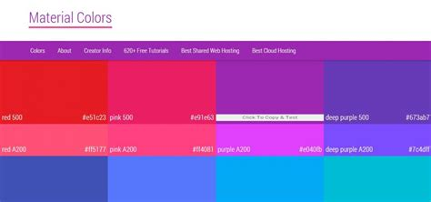 material design color schemes best material design color palette generating tools on air code