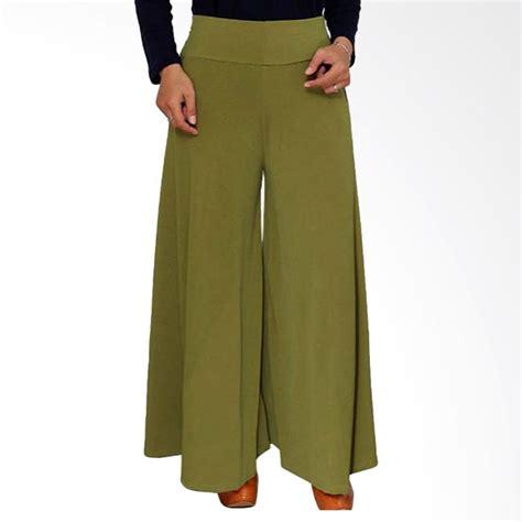 Kulot Army Sw Celana Wanita Hijau Army jual syifa collection standar celana kulot hijau army