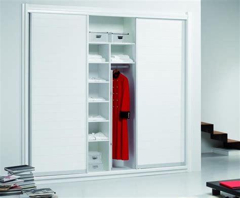 Custom Closet Sliding Doors Sleek Modern White Sliding Door Custom Closet