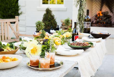 backyard dinner party outdoor dinner party 3a design studio