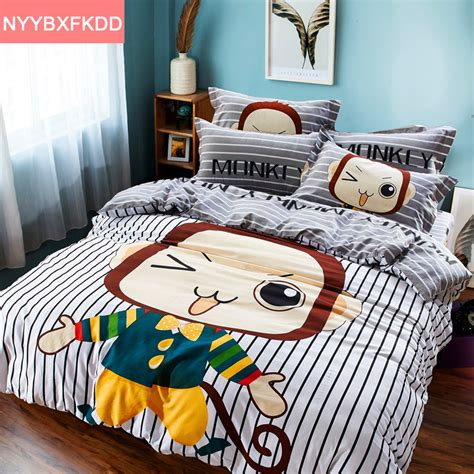 monkey bedding set promotion shop for promotional monkey
