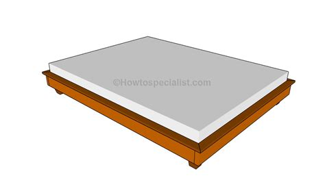 Build Simple Bed Frame How To Build A Simple Bed Frame Howtospecialist How To Build Step By Step Diy Plans