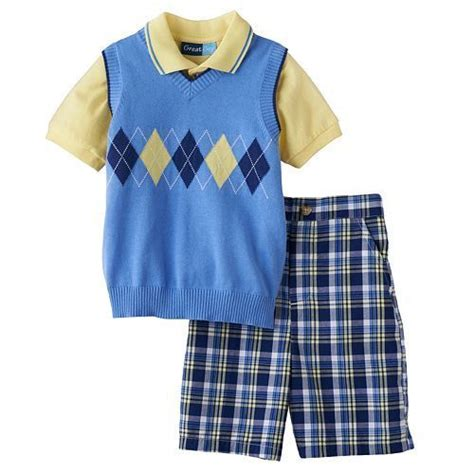 sweater vest baby great argyle sweater vest polo shirt palid shorts set toddler boy clothes ebay