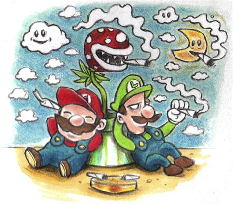 mario and luigi by trippy toons media amp culture cartoon