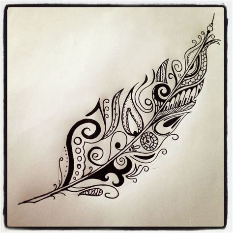 tribal eagle feather tattoo 25 best ideas about maori designs on